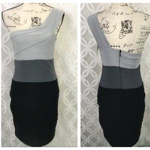 Frederick's of Hollywood Colorblock Bodycon Dress